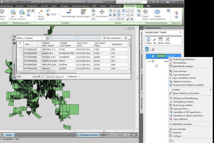 Autocad Map 3d 64 Bit Und Db Verbindung über Odbc Für Access