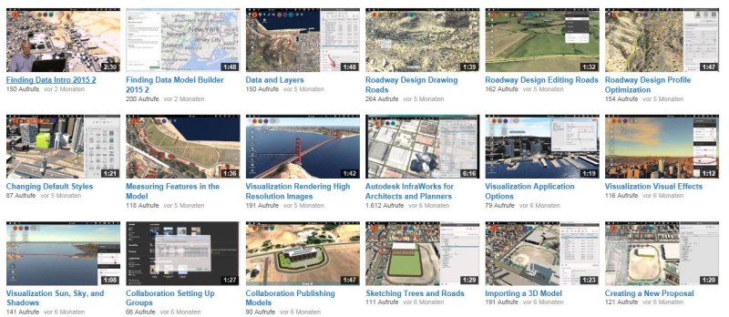 2014_09-22_Autodesk InfraWorks 360 Youtube Channel