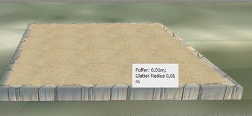 Puffer+Glatter Radius 0,01