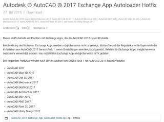AutoCAD Hotfix