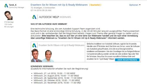 Up&Ready Webinare