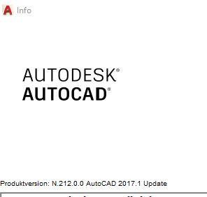 AutoCAD 2017 Update 1