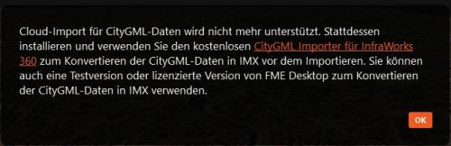 IW360 _CityGML-Import