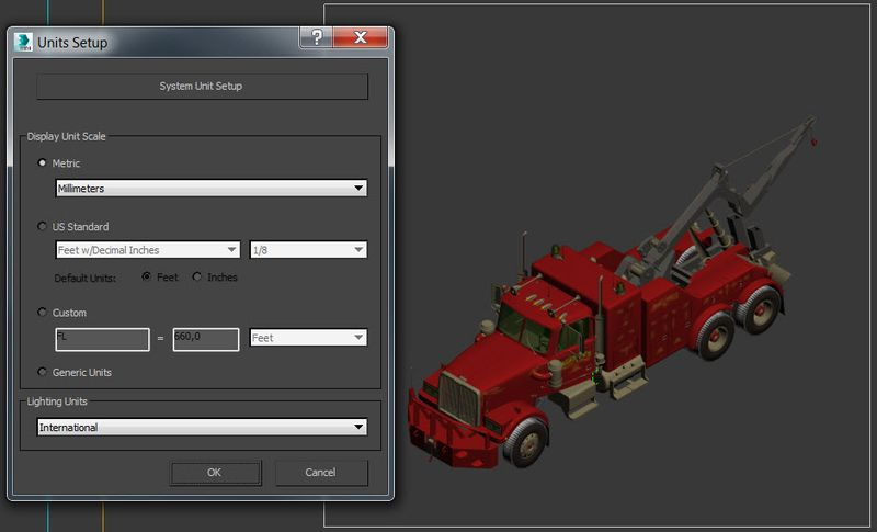 Truck_3ds Max