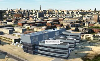 Ansicht Krankenhaus in IW360