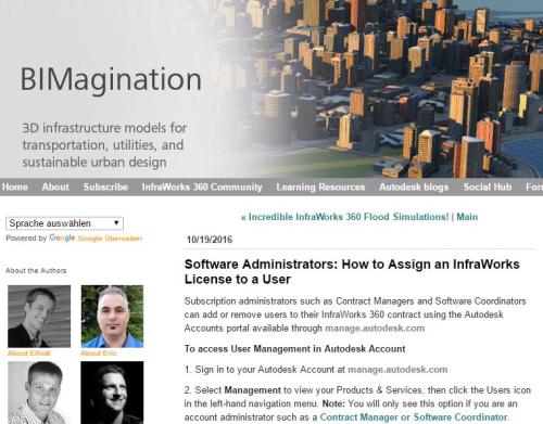 InfarWorks 360 Named User